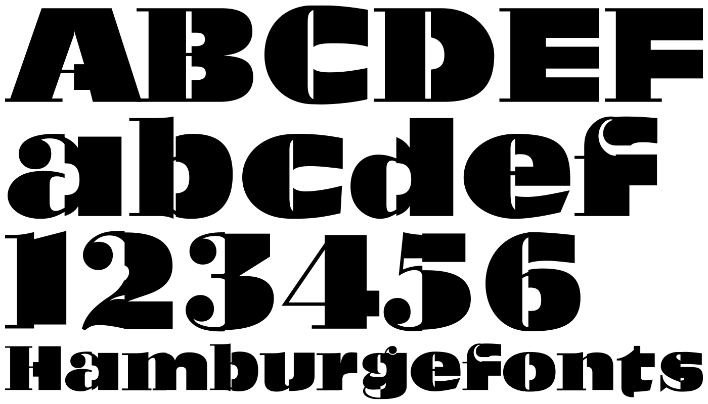 Open source font: Bodolive