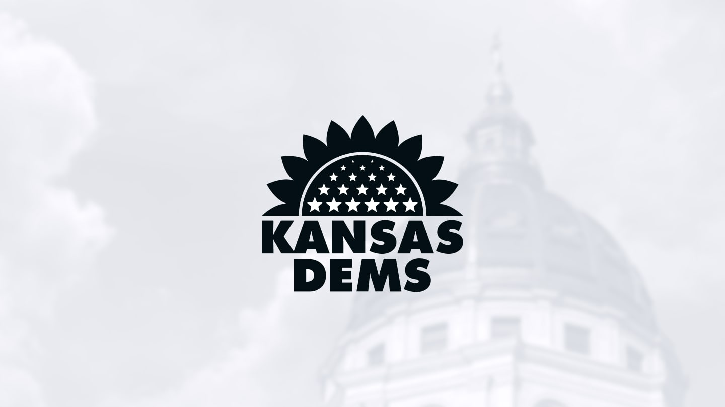 Kansas Dems logo design
