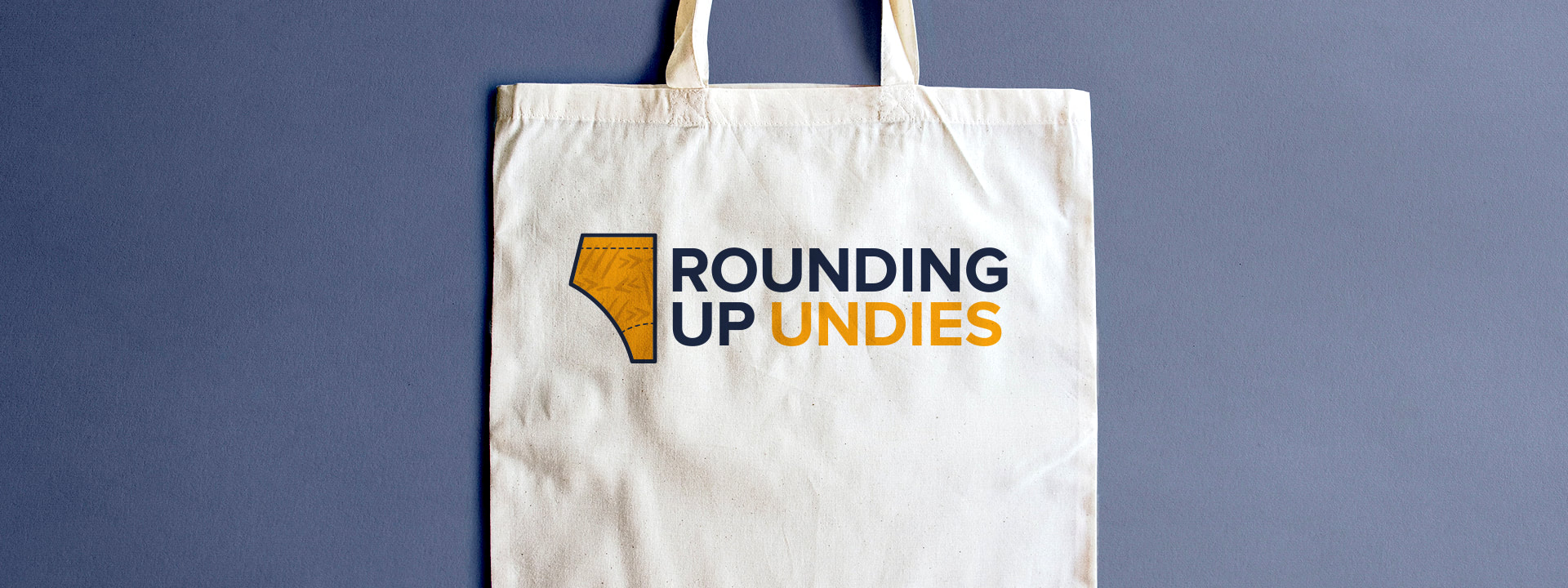 Rounding Up Undies logo design